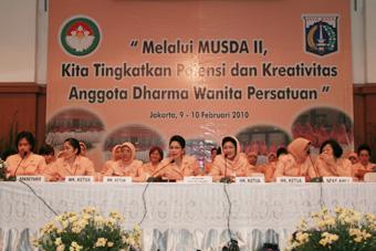 Musyawarah Daerah II Dharma Wanita Persatuan Provinsi DKI Jakarta (Sidang Paripurna I)