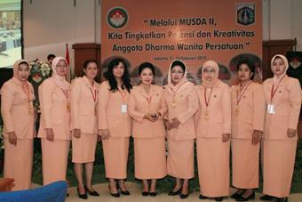 Musyawarah Daerah II Dharma Wanita Persatuan Provinsi DKI Jakarta (Sidang Paripurna II)