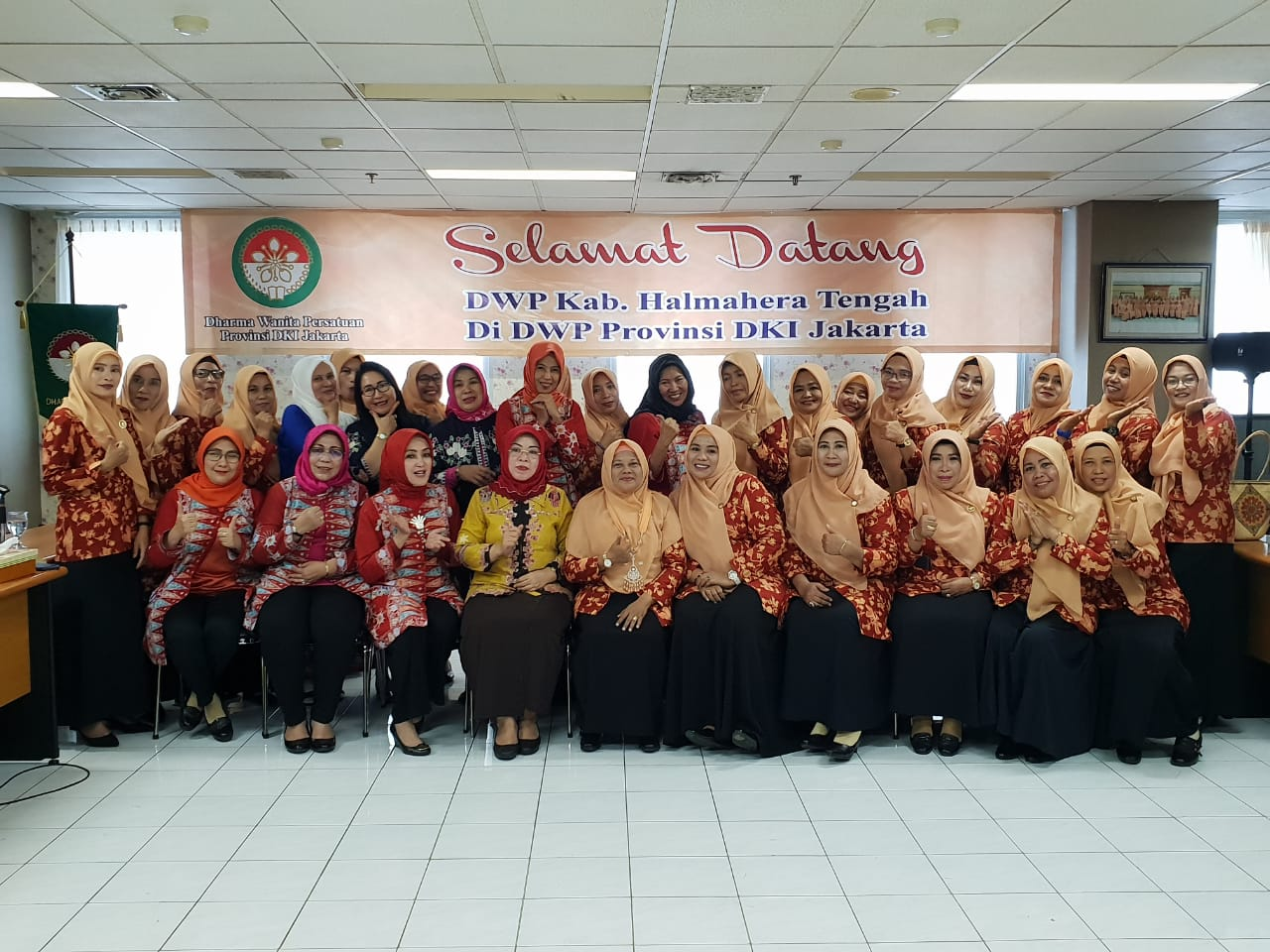 Kunjungan DWP Kab. Halmahera Tengah