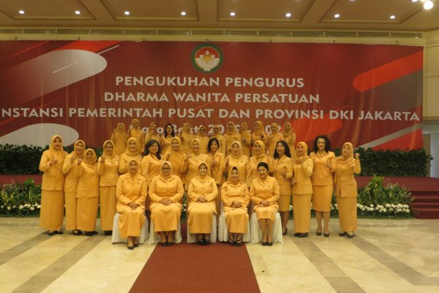 Pengukuhan Pengurus DWP DKI Jakarta Masa Bakti 2019 – 2024