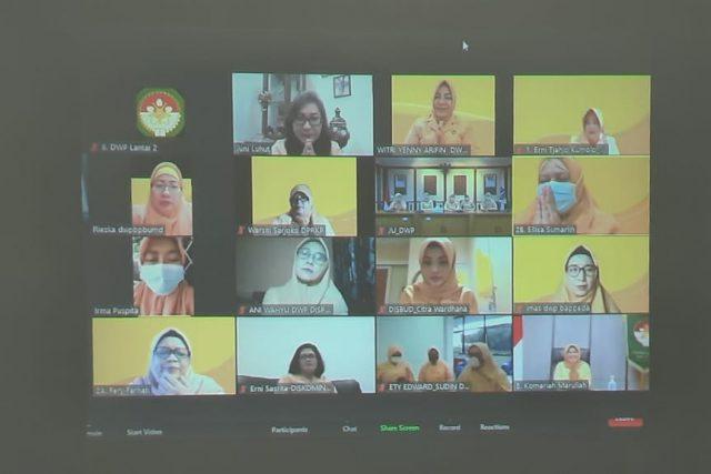 Serah Terima Jabatan DWP Provinsi DKI Jakarta