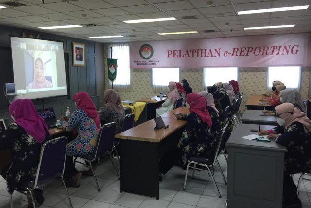 Pelatihan e-Reporting Tahun 2021