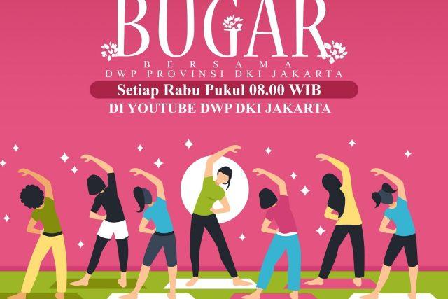 Rabu Bugar Bersama DWP Provinsi DKI Jakarta