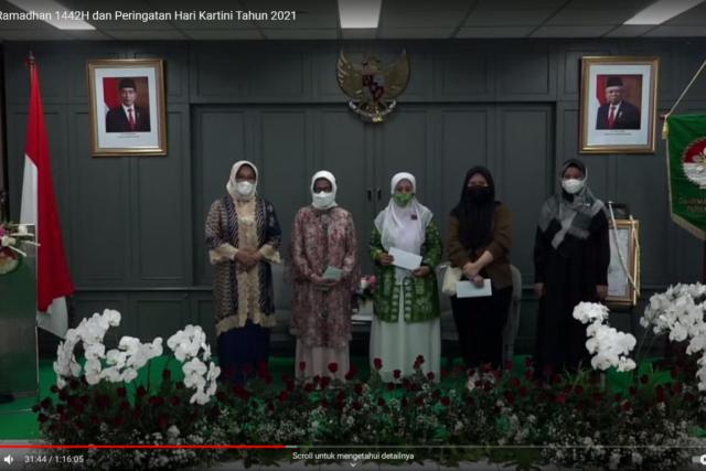 Santunan Ramadhan 1442 H dan Peringatan Hari Kartini 2021