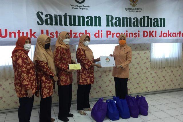 Santunan Ramadhan untuk Ustadzah di Provinsi DKI Jakarta