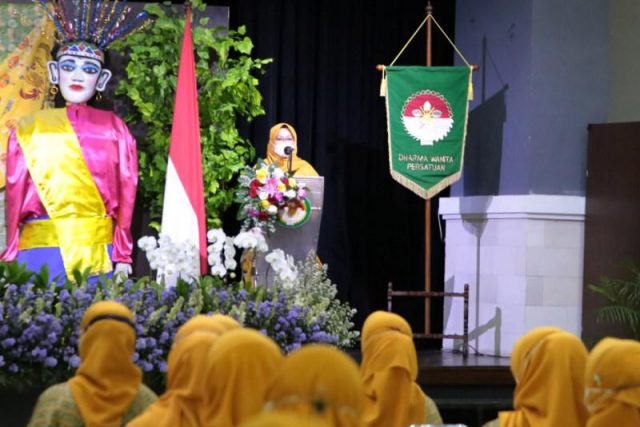 Halah Bihalal DWP Provinsi DKI Jakarta Tahun 2021