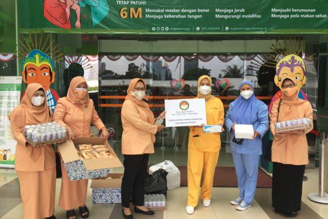 Penyerahan Bantuan Sosial masa Pandemi